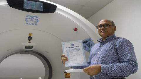 ANKE ANATOM 16 CT Scanner in Dominican Republic, North American
