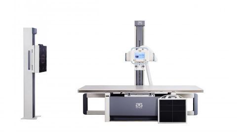 ASR-6150C FPD Floor-mounted DR System